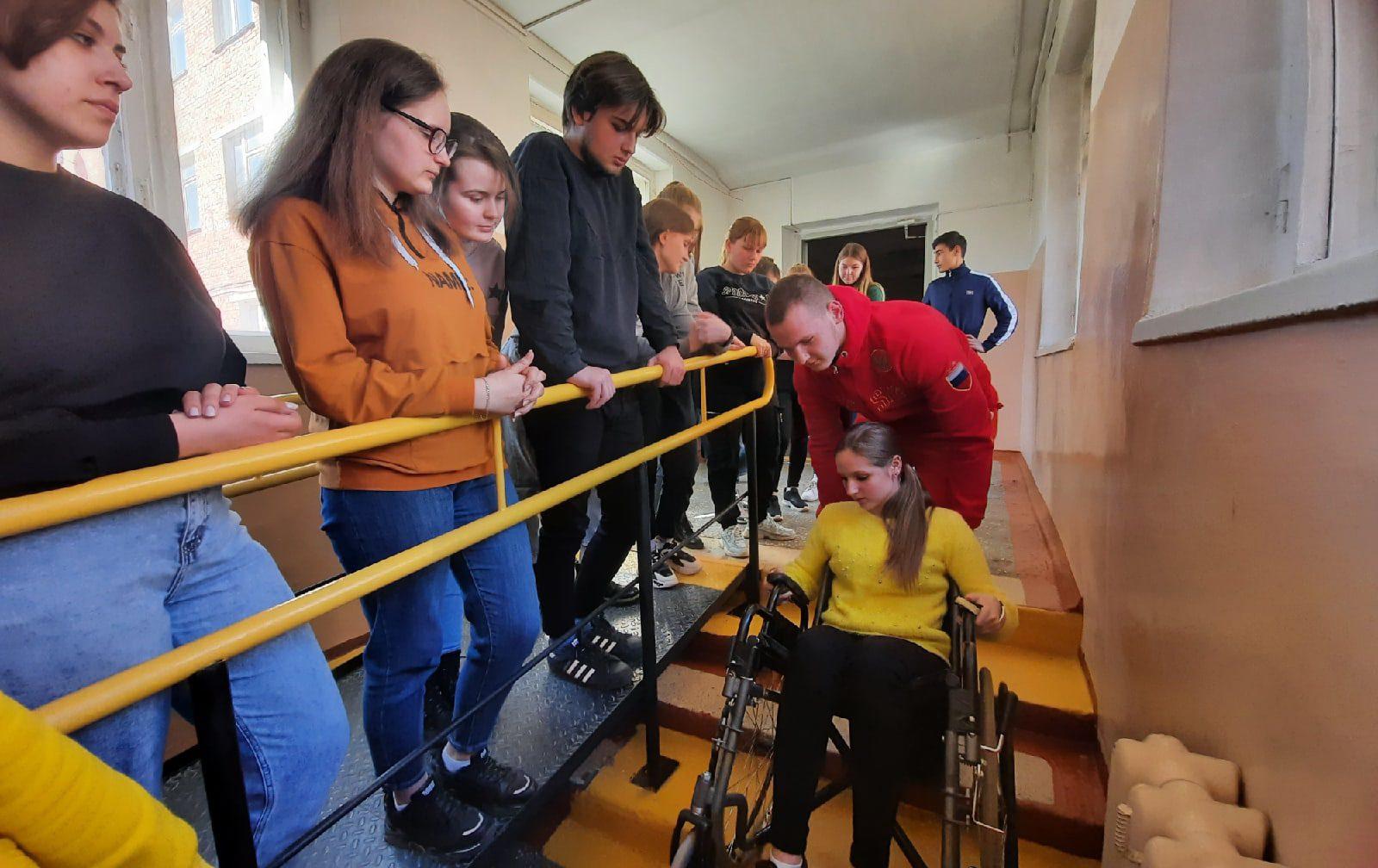 Началось обучение волонтеров к V юбилейному чемпионату «Абилимпикс»